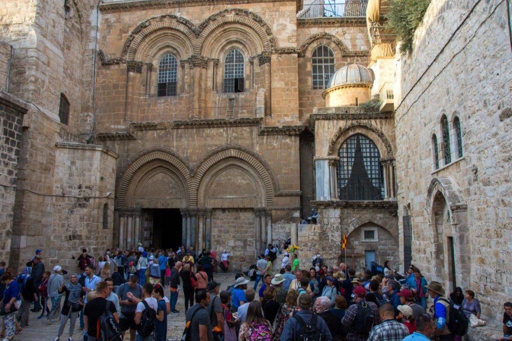 Via Dolorosa Jerusalem Church of the Holy Sepulchre