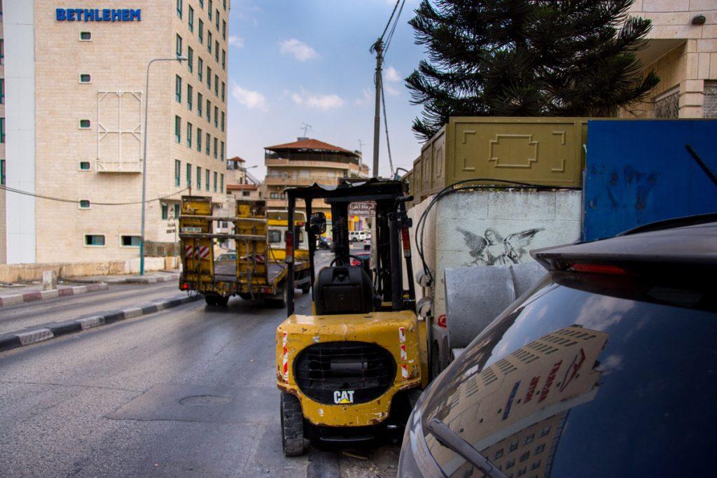 Banksy Street Art West Bank Bethlehem