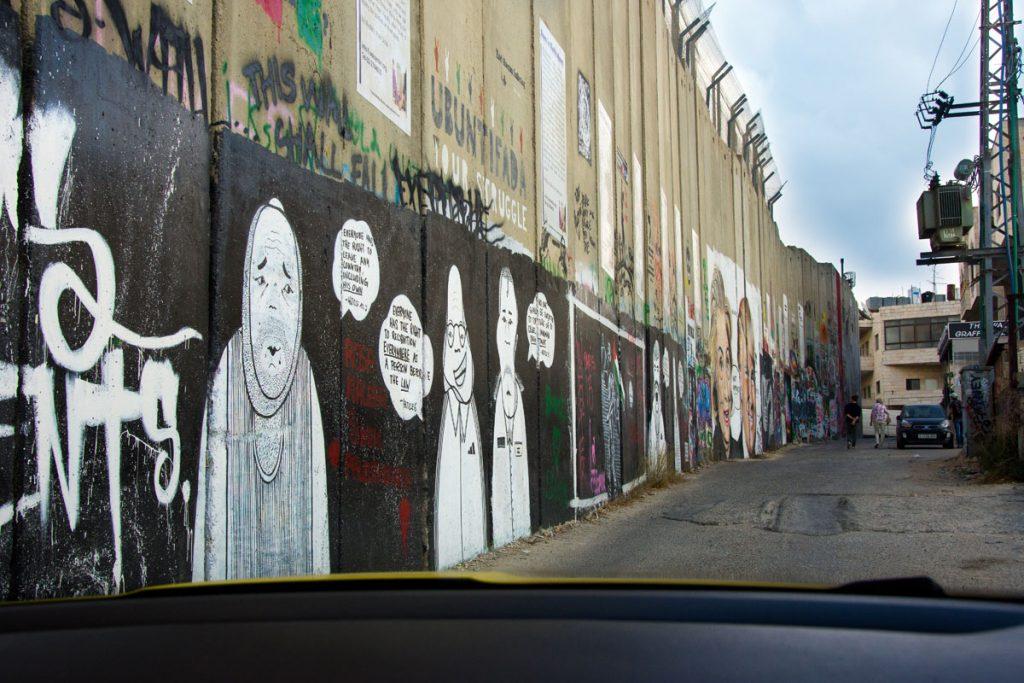 Street Art West Bank Bethlehem