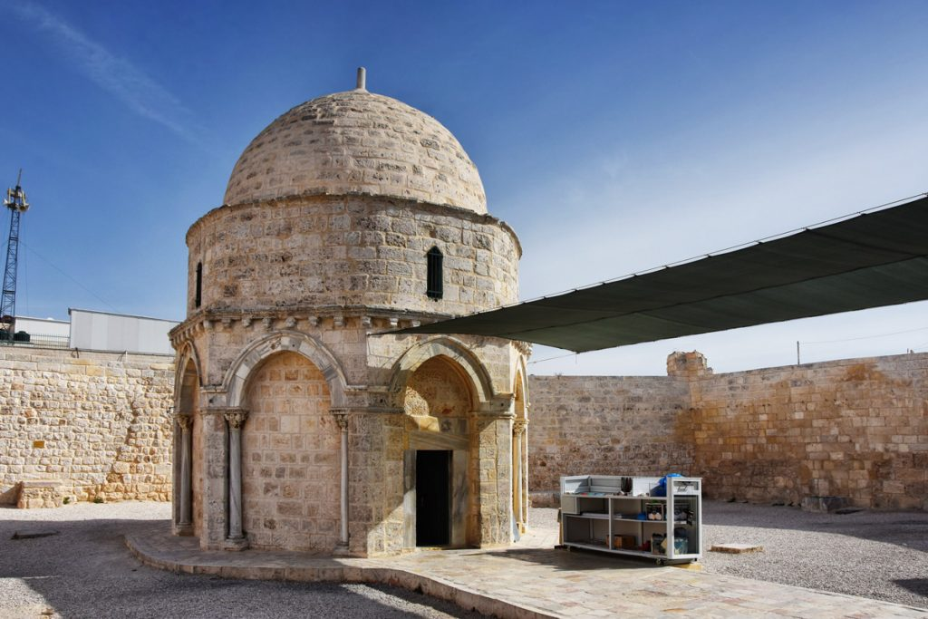 Chapel of the Ascension on the Mount of Olives, Jerusalem