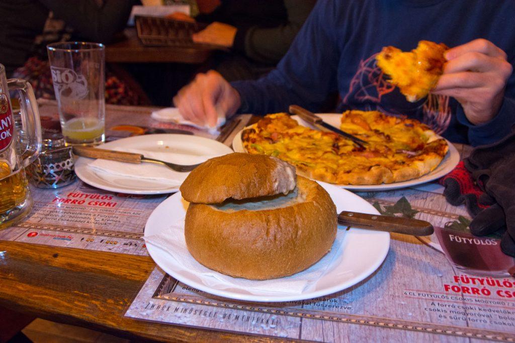 Dinner in Budapest