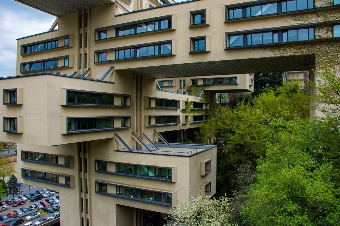 modernist architecture Georgia