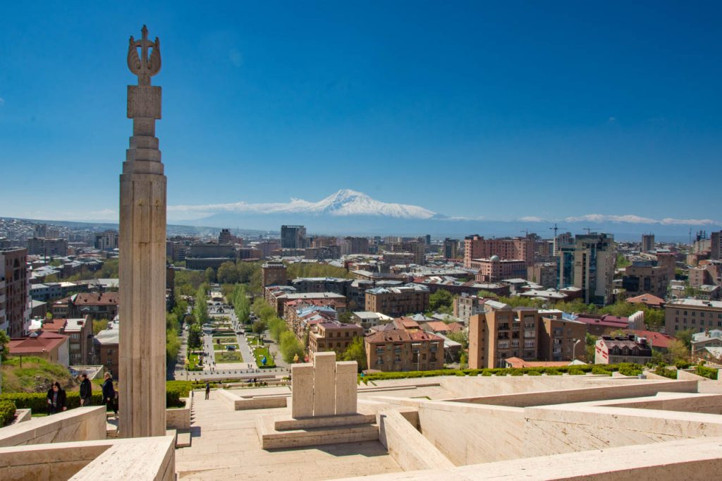 Though a capital city, Yerevan is easy to negotiate