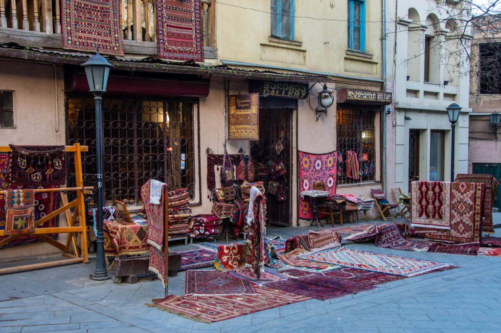 Caucasian Carpet Gallery, Tbilisi.