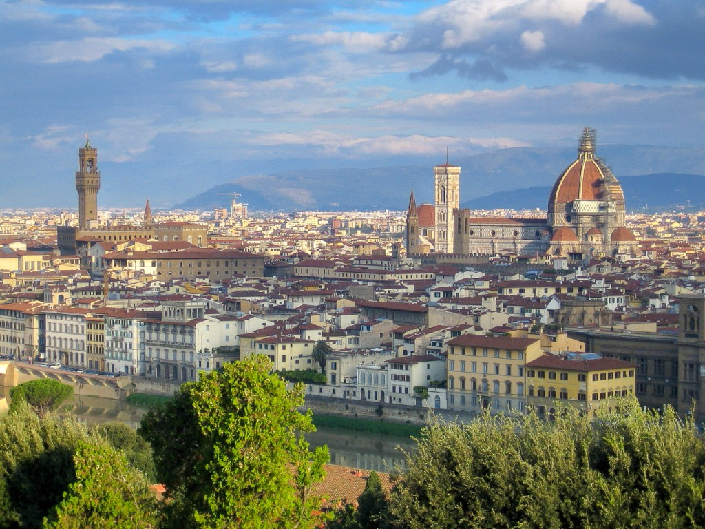 Piazzale Michelangelo - great views over Florence