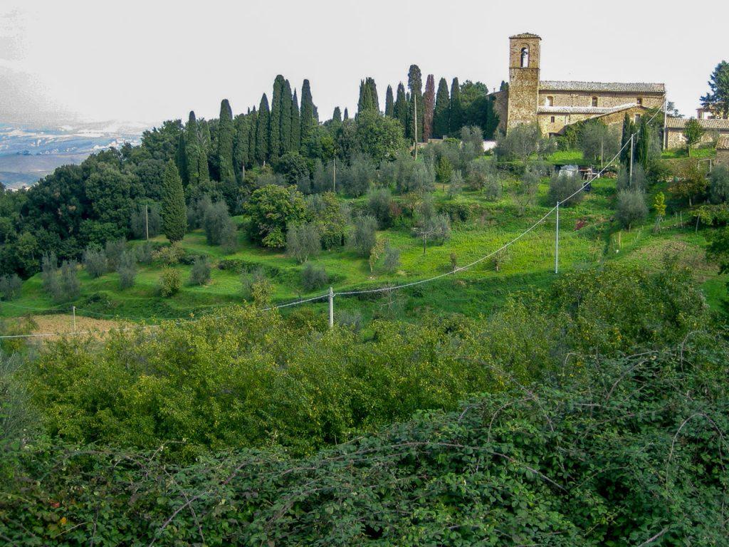 Bucolic Tuscany views