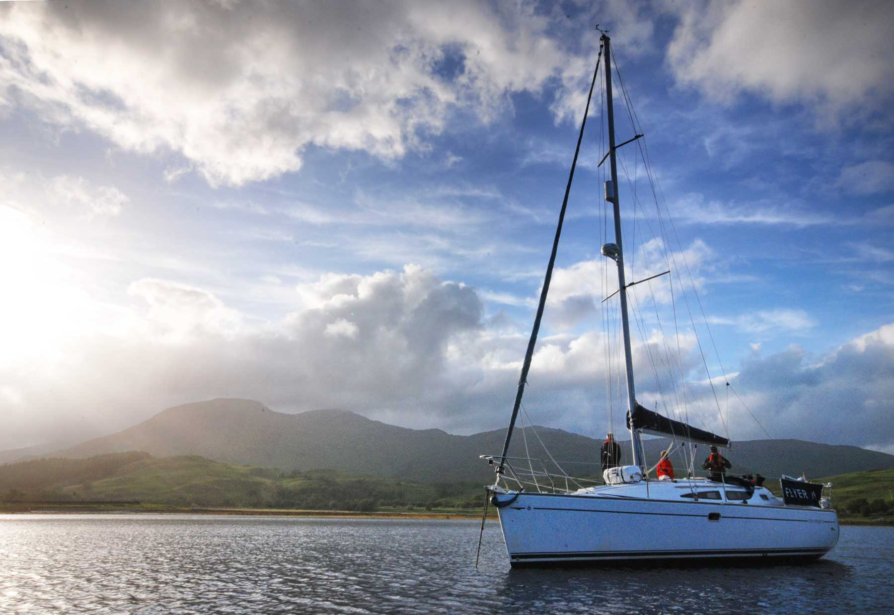 Sailing in Scotland for Advanced Beginners: RYA Day Skipper Course