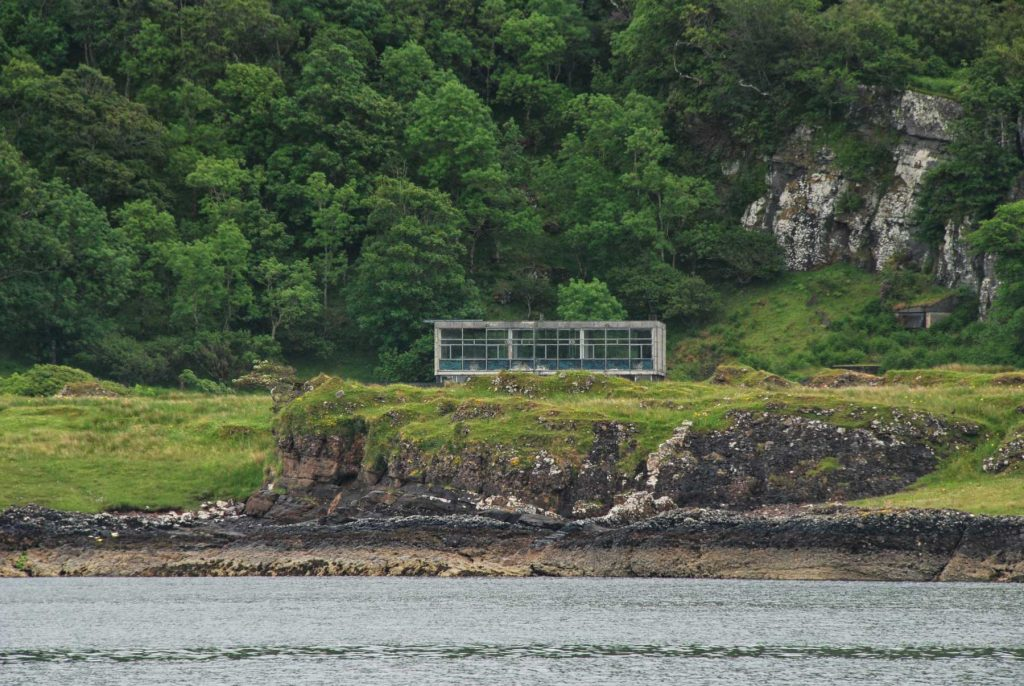 Site of the TAT-1 transatlantic cable near Oban