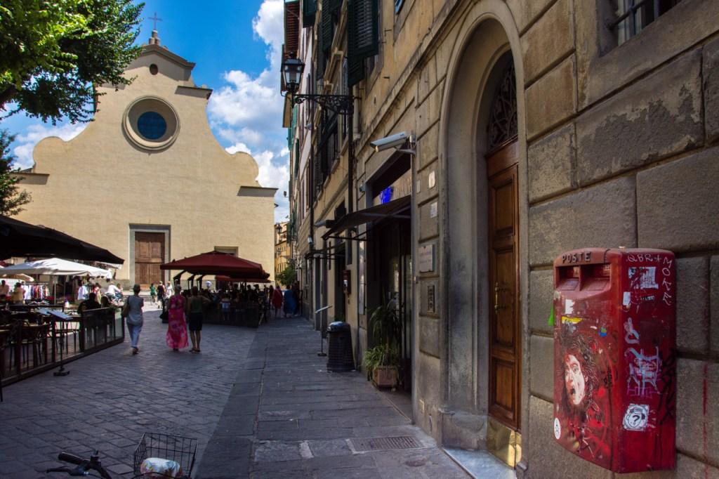 Florence in high season: Santo Spirito