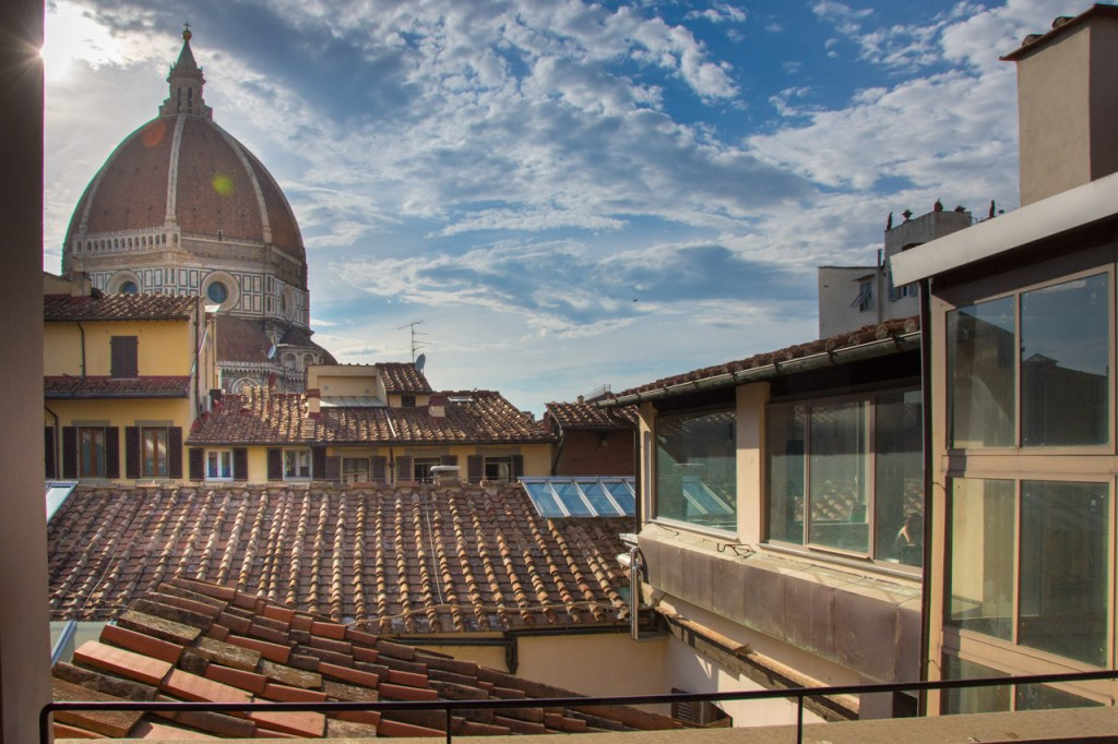 Florence in high season: Biblioteca dell Oblate