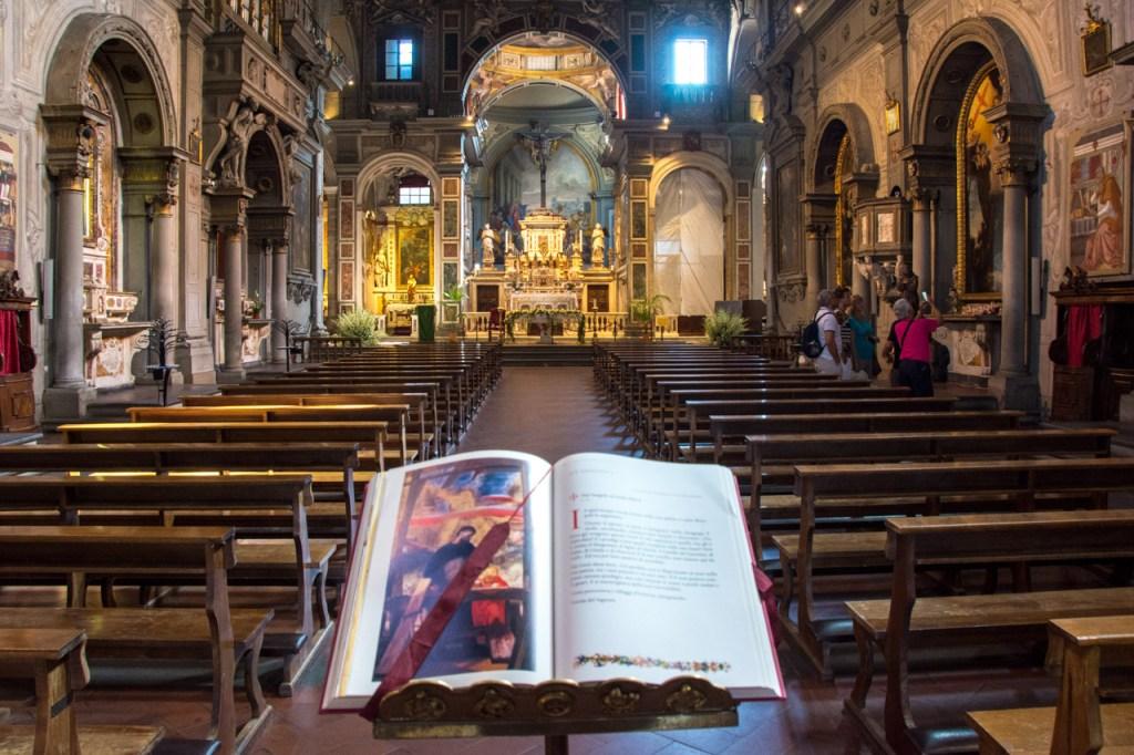 Florence in High Season: Chiesa di San Salvatore di Ognissanti