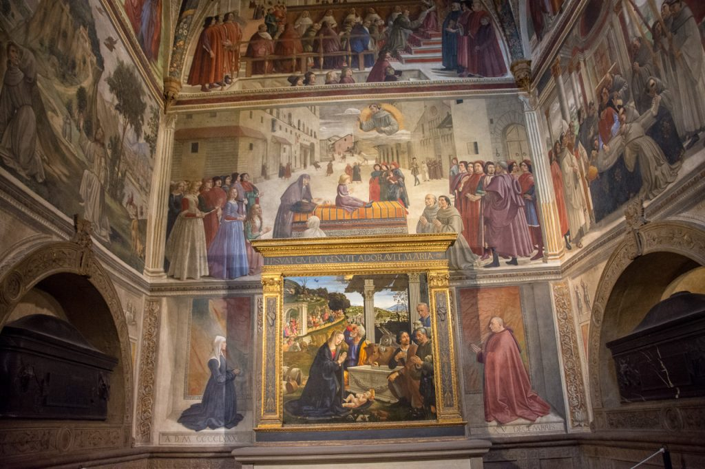 Florence in High Season: Santa Trinita