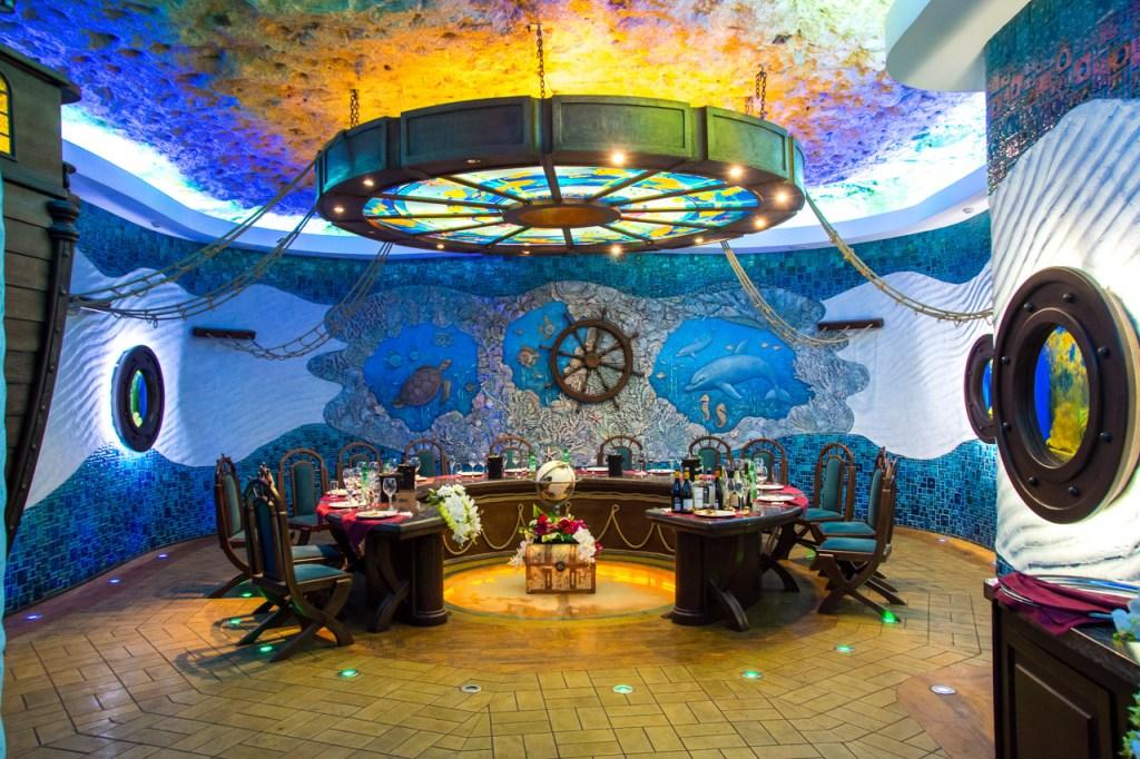Cricova Winery - Captain Nemo styled tasting room