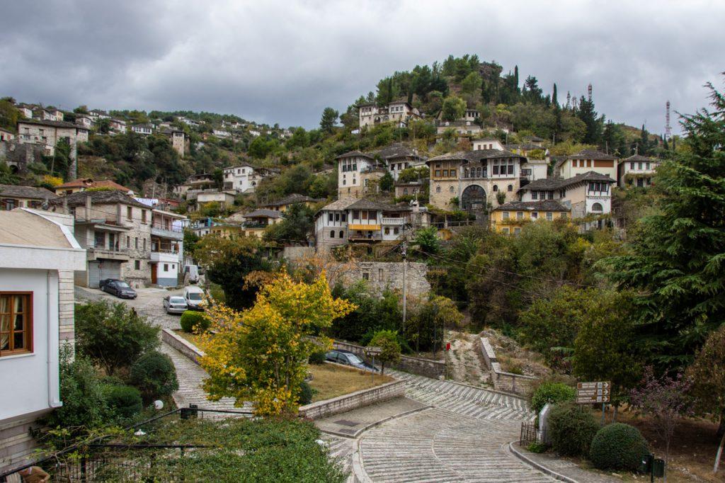 Gjirokastr, Albania. A UNESCO World Heritage Site