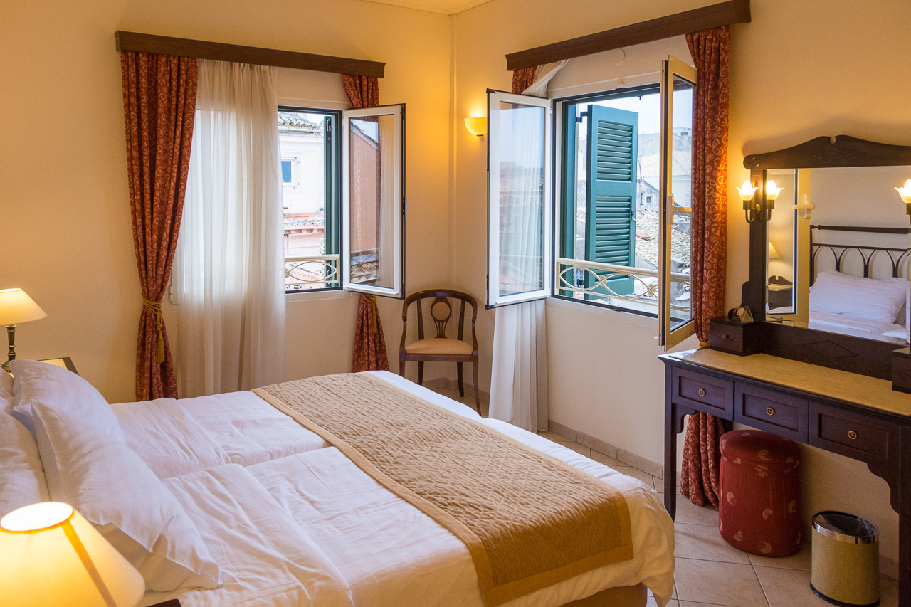 Hotel Review: Arcadion Hotel, Corfu Town: Central and Classy