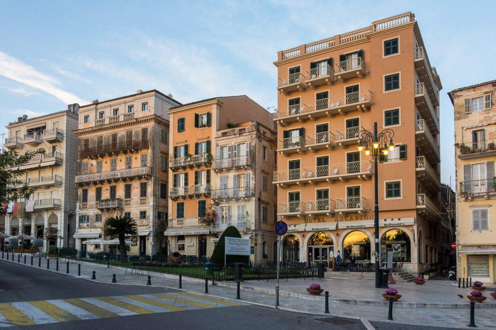 Hotel Arcadion Corfu Exterior View
