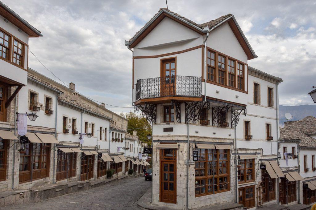Old Bazaar Street Gjirokaster, Albania
