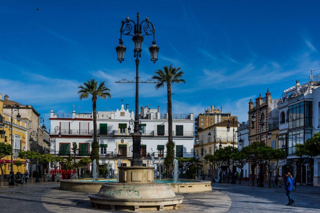 Plaza del Cabildo Sanlucar de Barrameda, Andalucia