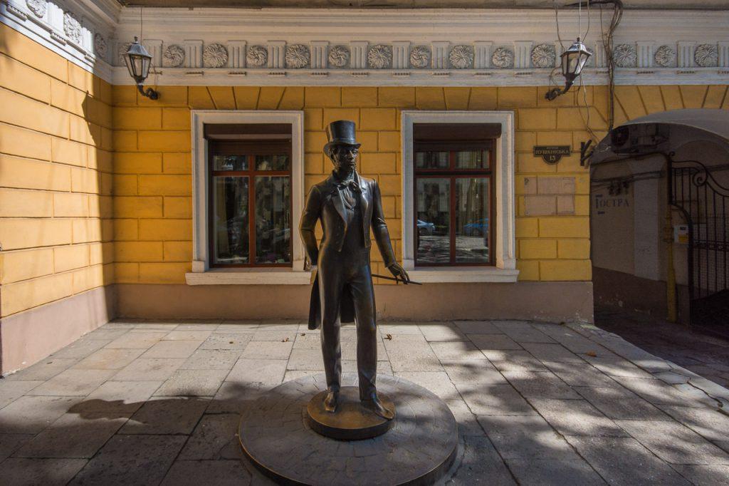 Odessa Pushkin Statue