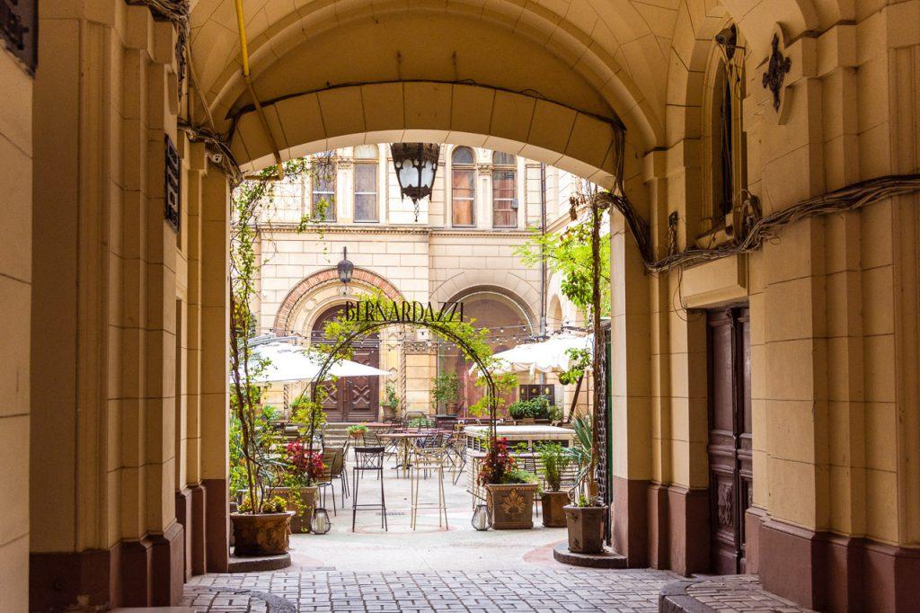Odessa Courtyard - visit Russia visa-free