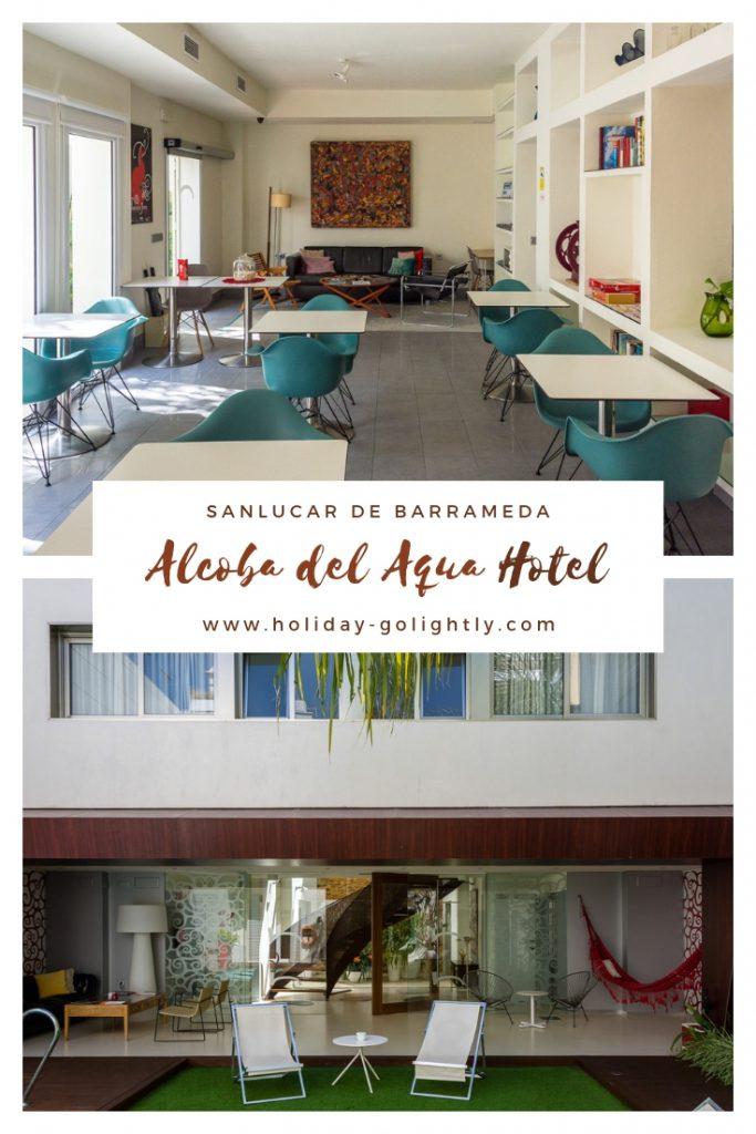 pin alcoba del agua hotel SAnlucar Andalucia