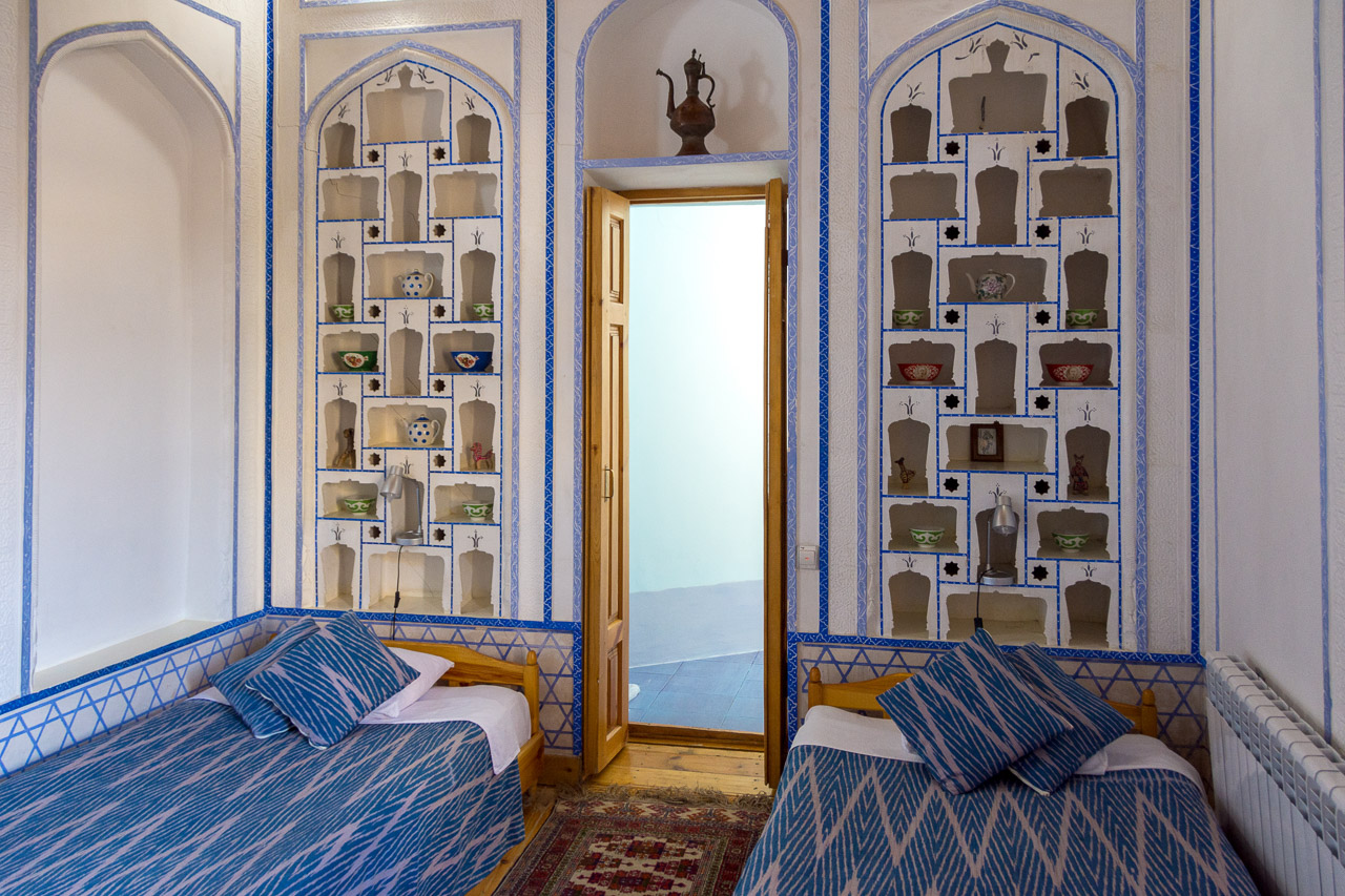 Hotel Review: Boutique Hotel Minzifa, Bukhara