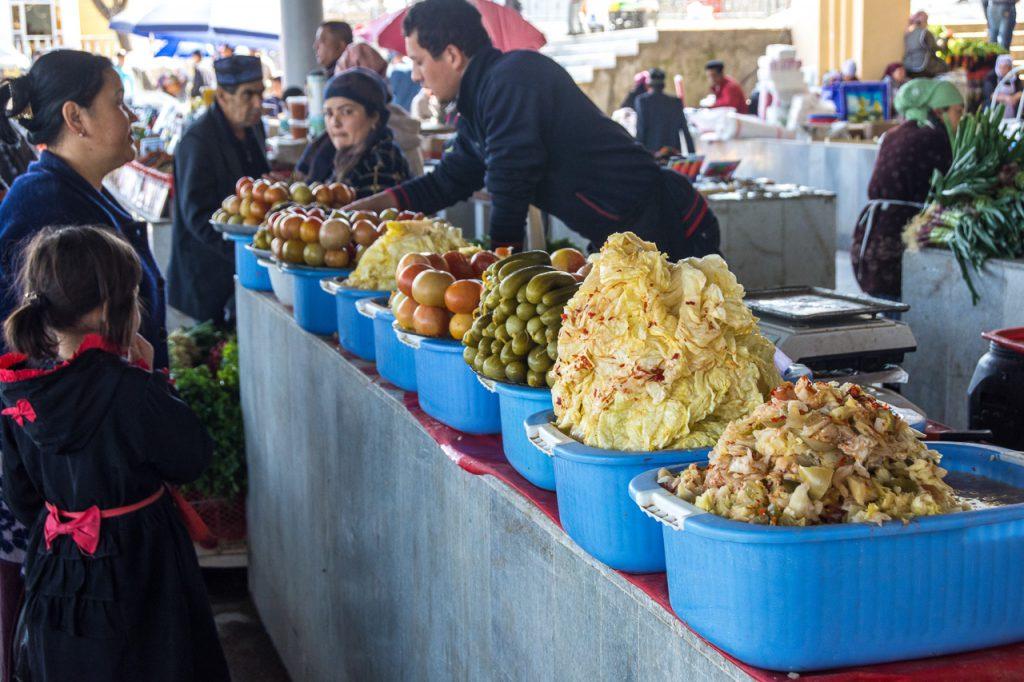 Siyob Bazaar in SAmarkand