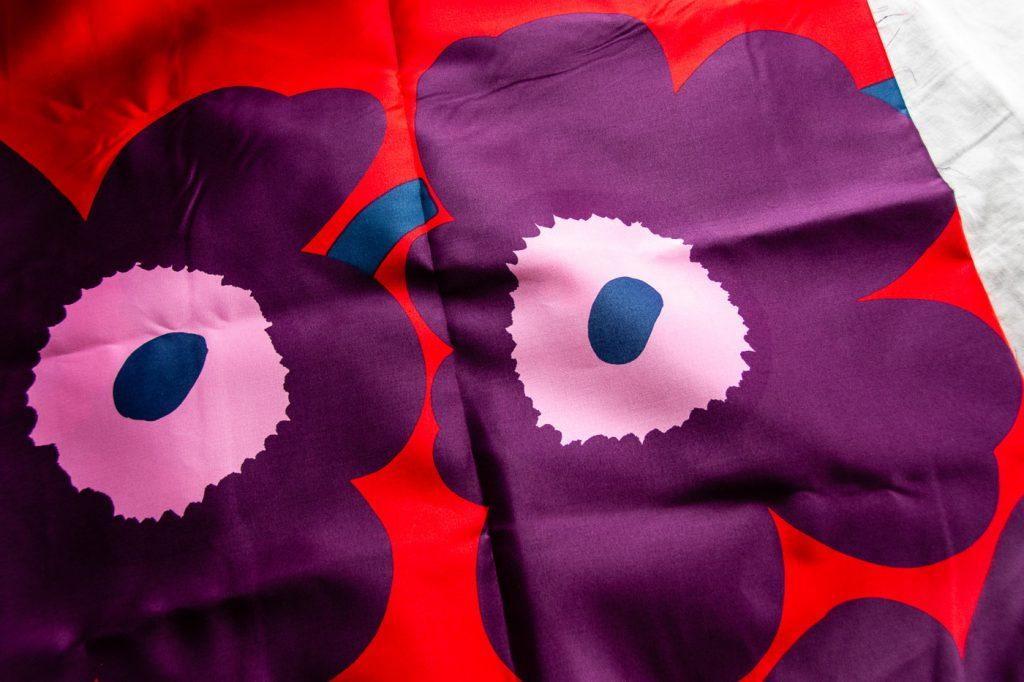 Marimekko Fabric in Unikko Design