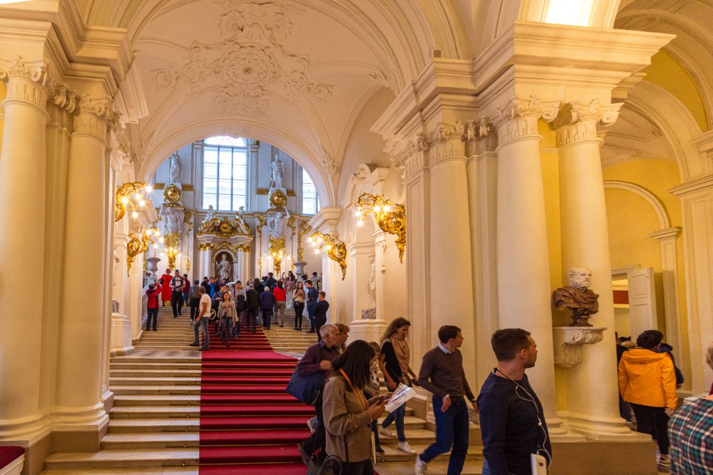 The Main Entrance Winter Palace and State Hermitage Museum, St. Petersburg