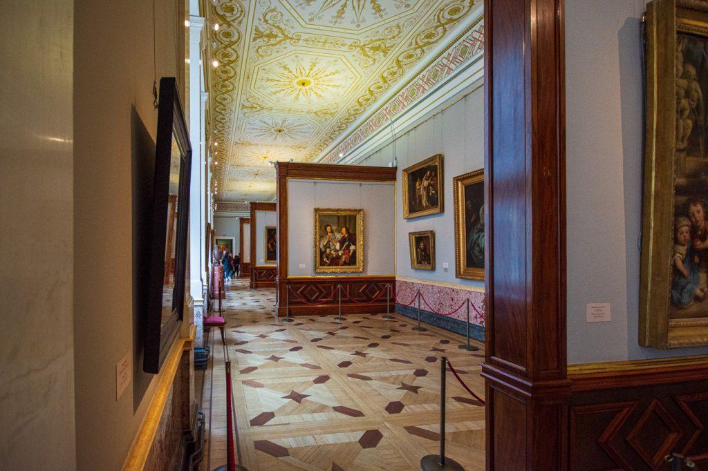 Winter Palace State Hermitage Museum, St. Petersburg Gallery