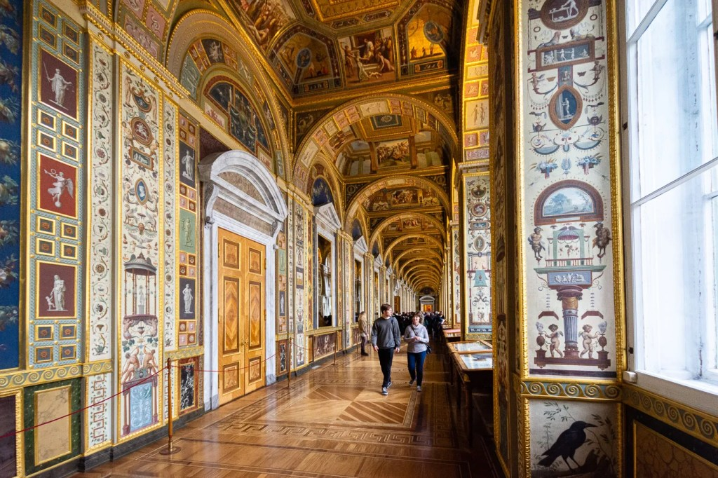 Raphael Loggia at the HErmitage State Museum St Petersburg