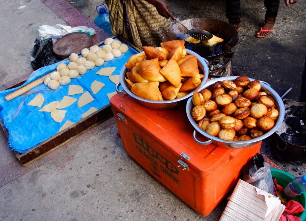 street food in Dar es Salaam, Tanzania
