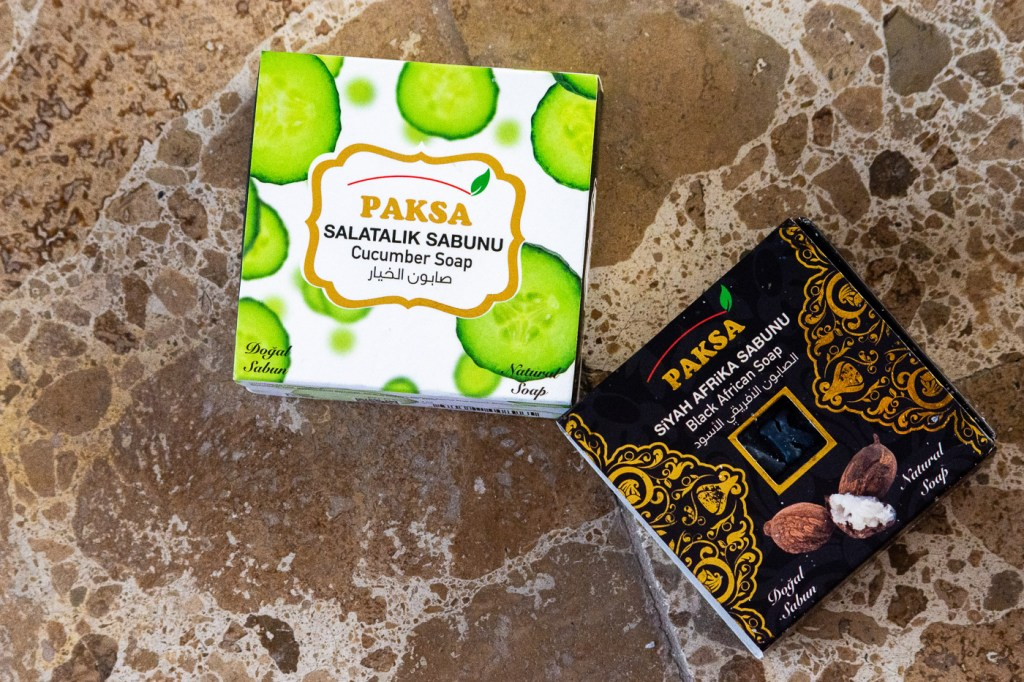 Turkis natural soaps - Africa Black Soap and Cucumber