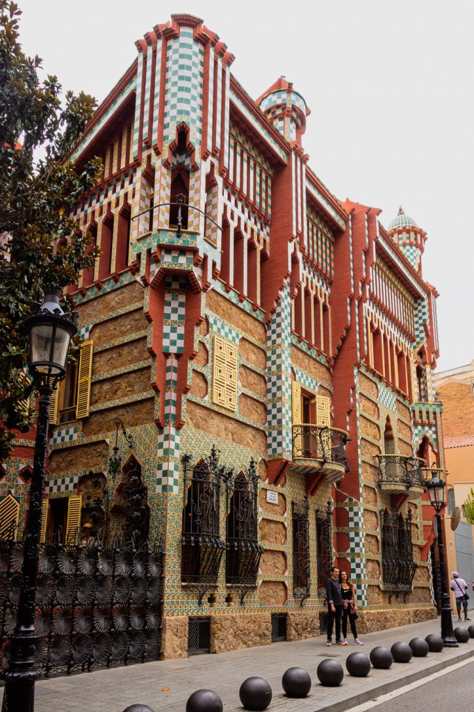 Casa Vicens, a colourful Antoni Gaudi design in BArcelona in my 2019 travel review