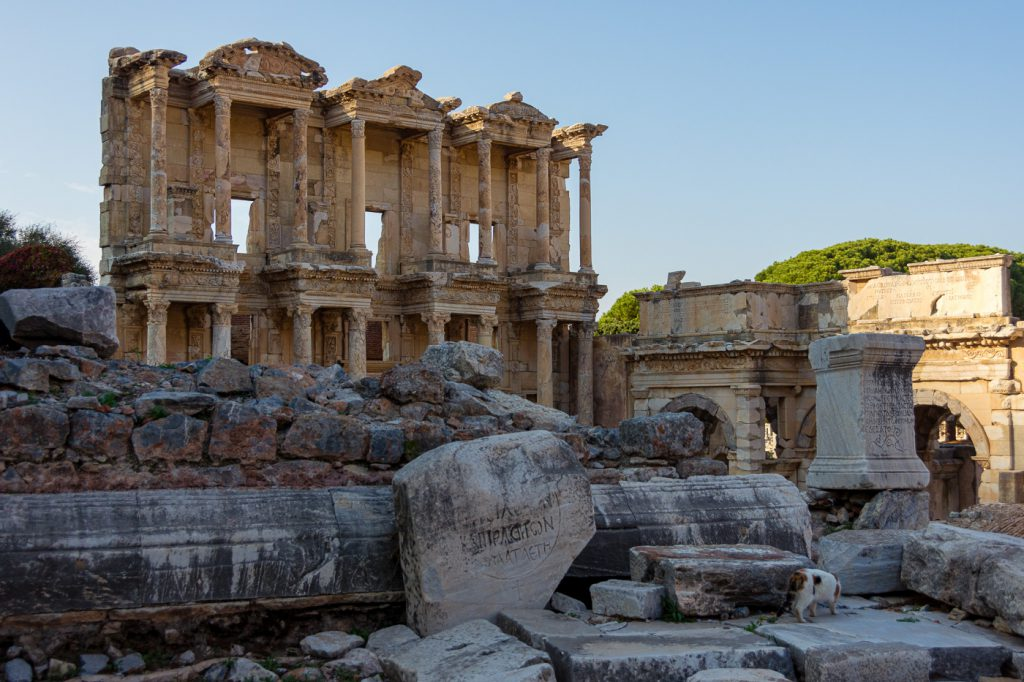 Library of Celsus Ephesus