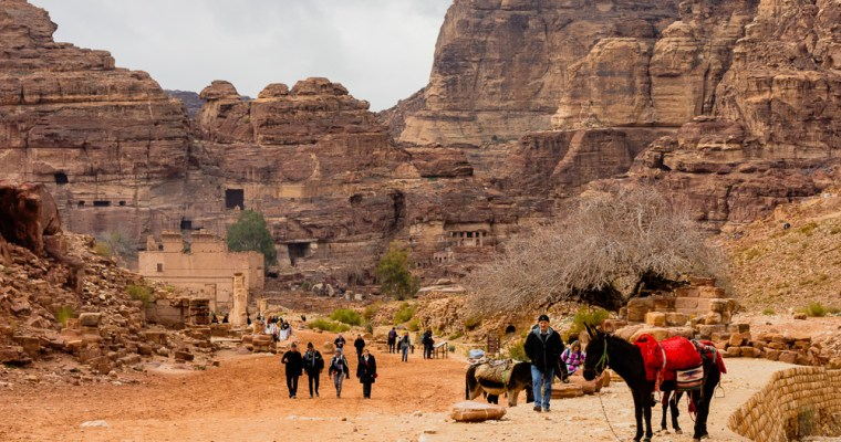 How to visit Petra with limited mobility and gently walk this ancient city