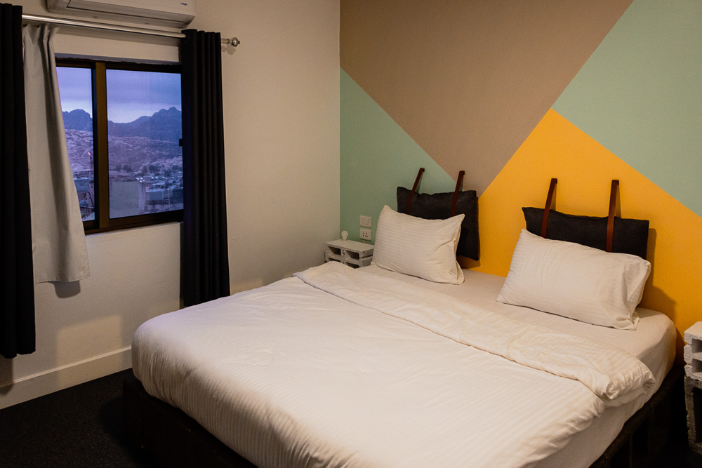 Budget Twin Room at Nomads Hotel Petra