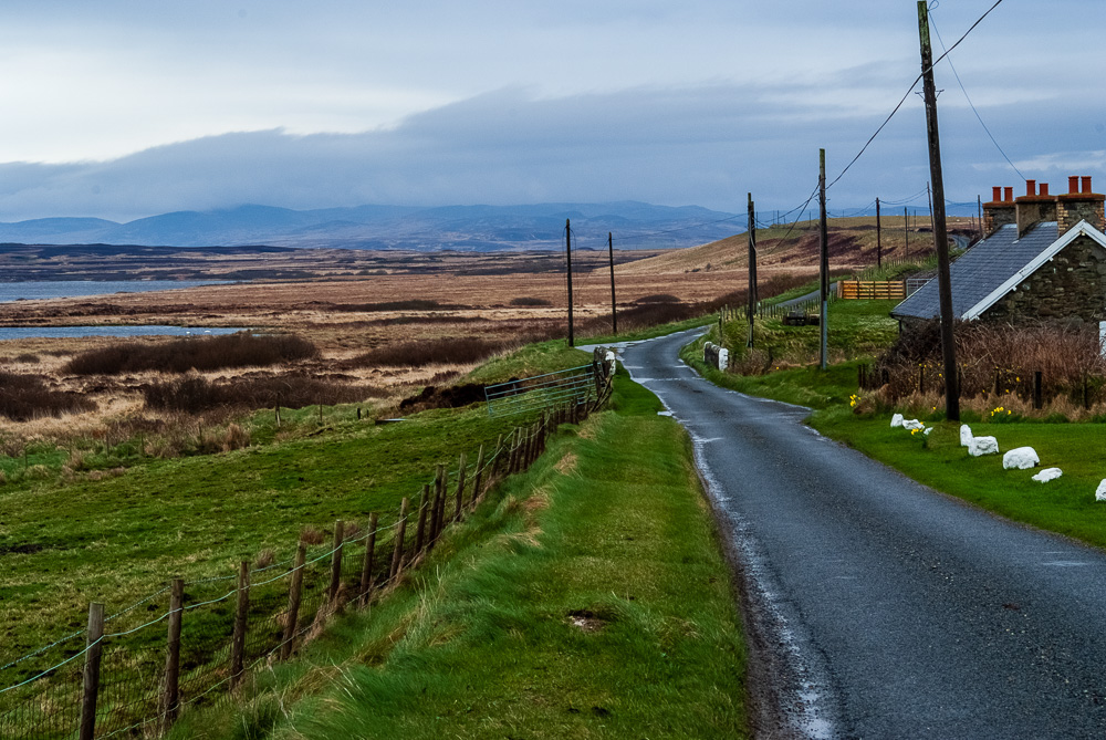 Typical landscape on Islay