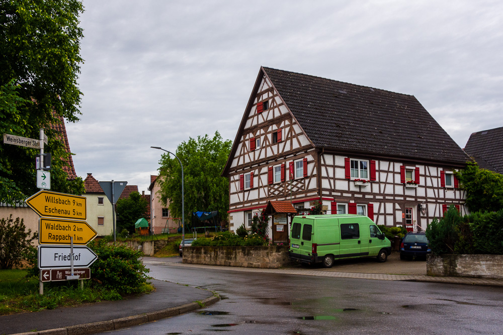village near Heilbronn - Travel in Germany and Coronavirus