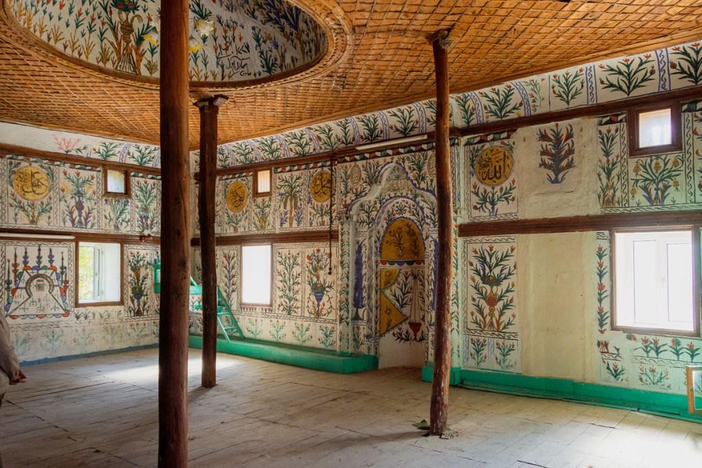 Akkoy Mosque Interior