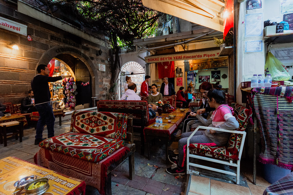 Kizlaragai Han, inside Kemeralti Bazaar in Izmir, Turkey