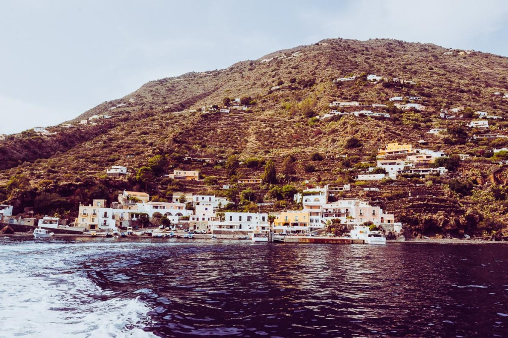 Alicudi, one of the smallest of the Aeolian Islands
