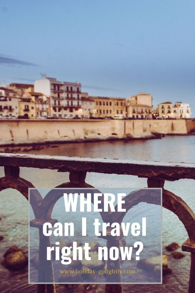 pin for pinterest showing Ortigia in Sicily
