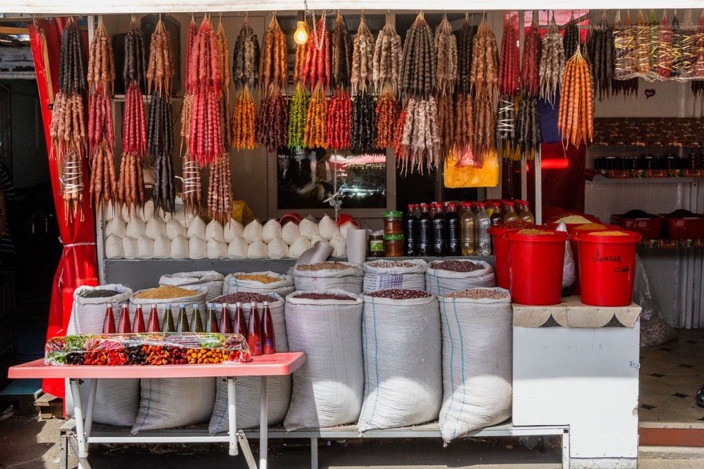 shopping in the Caucasus - Tbilisi Deserters Bazaar