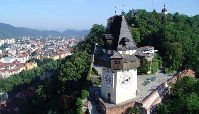 Austria-Tour-Uhrturm