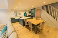 Open plan holiday living