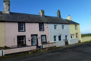 Painted Fishermans Cottages Allonby