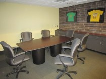 One of the small conference rooms