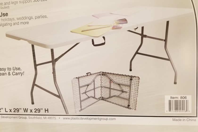 Enjoyable 6 Folding Banquet Table Just 29 00 At Target Holiday Download Free Architecture Designs Salvmadebymaigaardcom