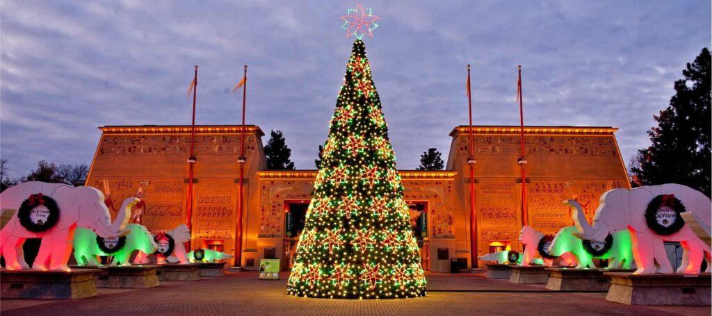 Christmas Panel Trees